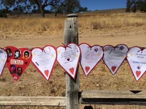 hearts fence 4